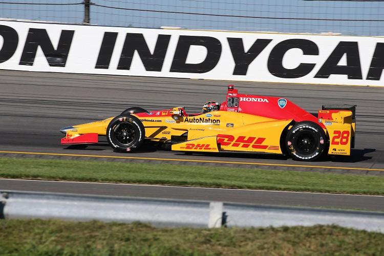 Ryan Hunter-Reay - Credit: Bret Kelley / IndyCar