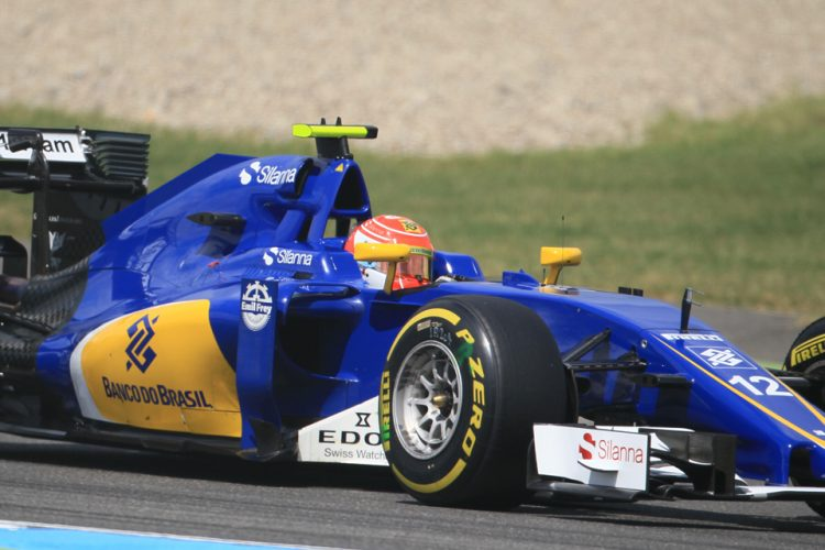 Felipe Nasr talks about the teams progress after investment (Credit: Octane Photographic Ltd)