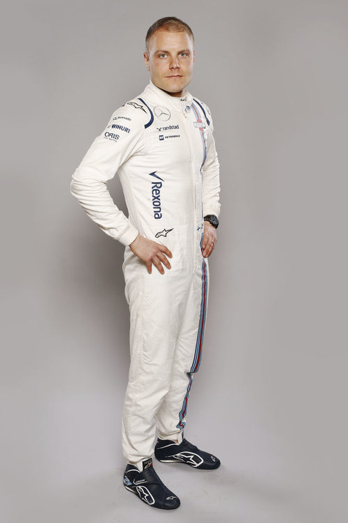 Williams F1 Driver Studio Images. February 2016. Valtteri Bottas. Photo: Williams F1 Team ref: Digital Image _89P7600. Credit: Williams Martini Racing
