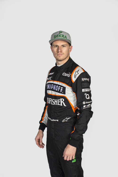 Nico Hulkenberg (GER) Sahara Force India F1. Sahara Force India F1 Team Filming Day, Friday 6th May 2016. Silverstone, England. Credit: Sahara Force India