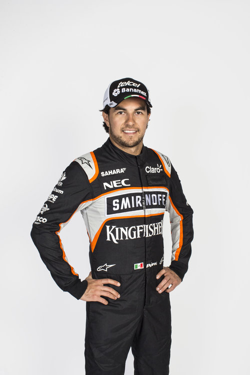 Sergio Perez (MEX) Sahara Force India F1. Sahara Force India F1 Team Filming Day, Friday 6th May 2016. Silverstone, England. Credit: Sahara Force India