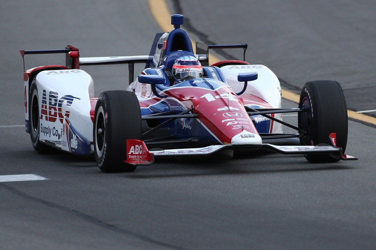 Mikhail Aleshin wins pole at Pocono; Josef Newgarden 2nd
