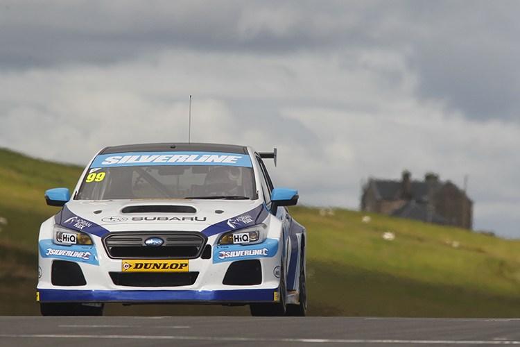 Team BMR's Jason Plato 2016 BTCC Knockhill Race 1 Win