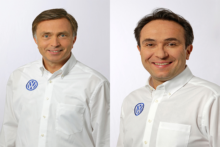 Sven Smeets-Jost Capito VW Motorsport Director