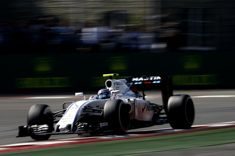 Valtteri Bottas - Credit: Glenn Dunbar/Williams