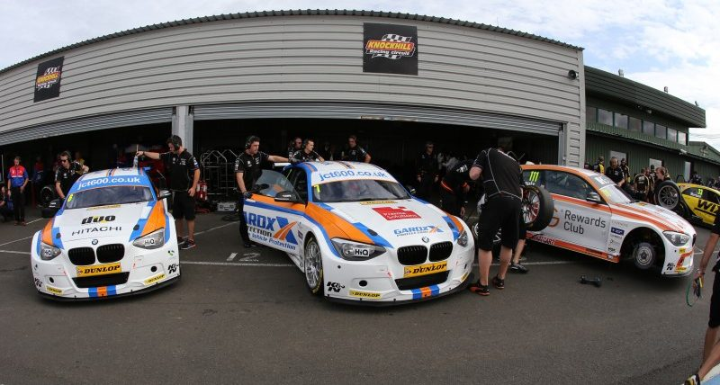 BMW and RWD machinery are always quick at Knockhill