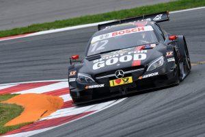 Motorsports: DTM race Moskau 2016