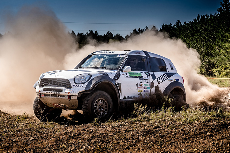 2016 Hungarian Baja Mikko Hirvonen MINI All4 Racing 2016 Rallye du Maroc