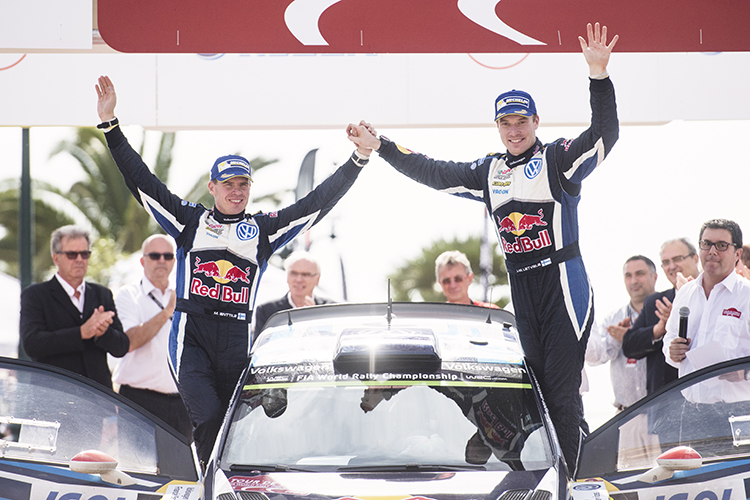 2016 Tour de Corse - Rallye de France - Latvala win 2015