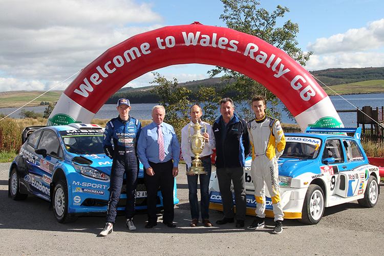 2016 Wales Rally GB Brenig Reservoir press picture