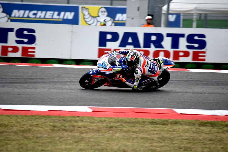 Lorenzo Baldassarri - Photo Credit: Forward Racing