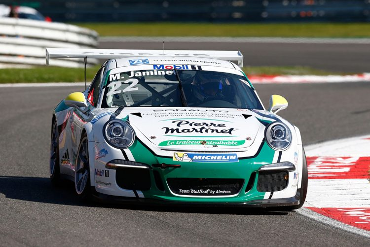 Porsche Mobil 1 Supercup Spa 2016 Mathieu Jaminet (F)