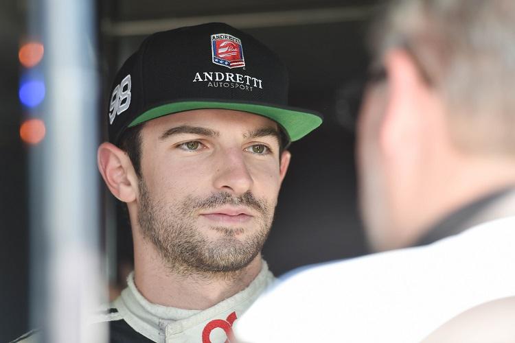 Alexander Rossi - Credit: Chris Owens / IndyCar