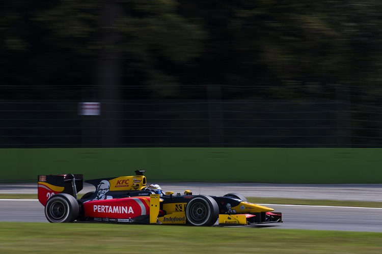 Antonio Giovinazzi - Credit: Sam Bloxham/GP2 Series Media Service