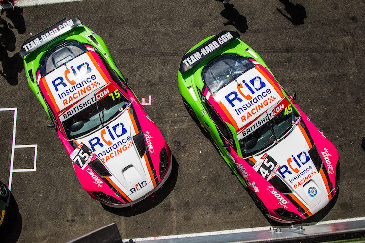 RCIB Insurance Racing are in touching distance of the GT4 teams championship (Credit: Nick Smith/TheImageTeam.com)