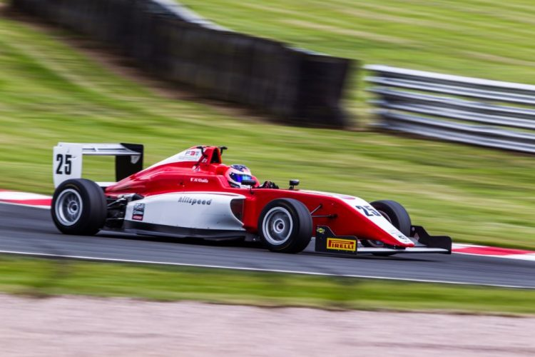 Ali Al Khalifa competing for Hillspeed at Oulton Park (Credit: Nick Smith/TheImageTeam.com)