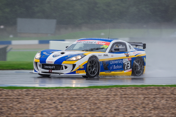 Nathan Freke sailed the University of Bolton car to top of GT4 (Credit: Craig Robertson/Racephotography.net)