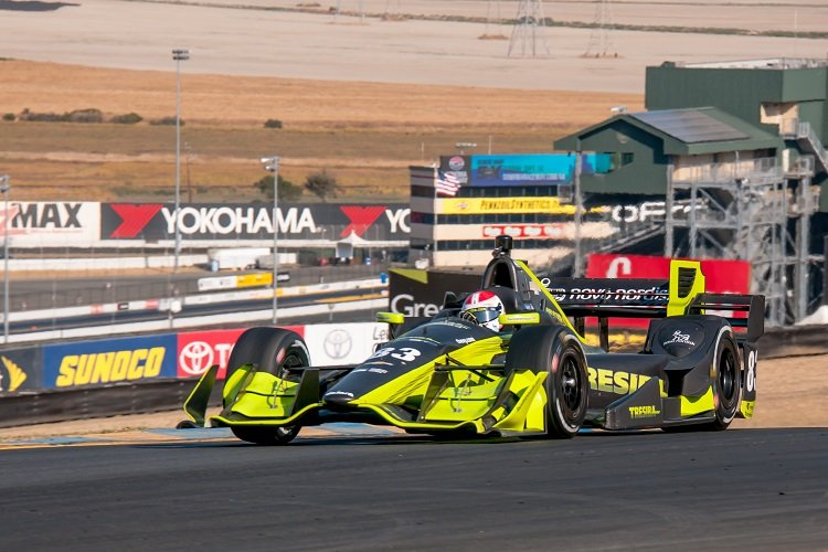 Charlie Kimball - Credit: Mike Finnegan / IndyCar