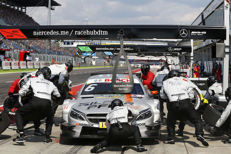 Wickens, confident of winning at the Nürburgring. Credit: DTM Media.