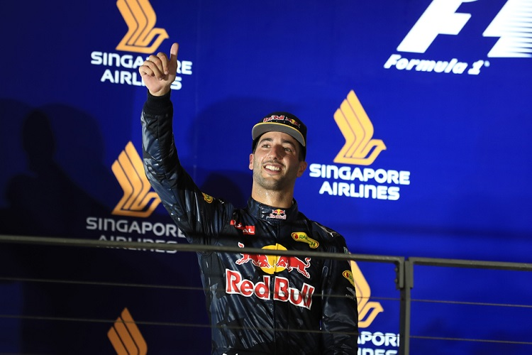 Daniel Ricciardo - Credit: Octane Photographic Ltd