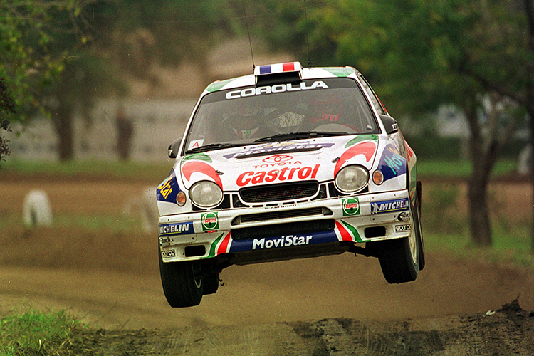 Didier Auriol Toyota 1999 Rally China