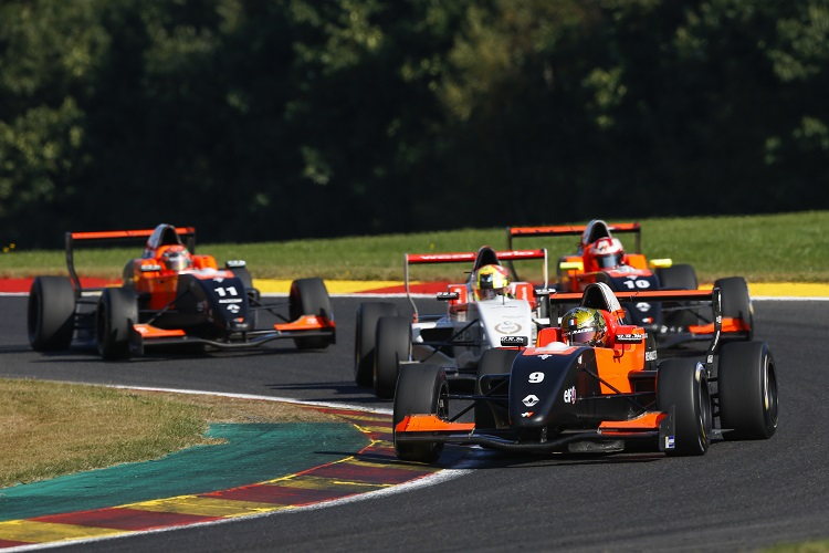 Dorian Boccolacci in front at Spa - Credit: Florent Gooden / DPPI