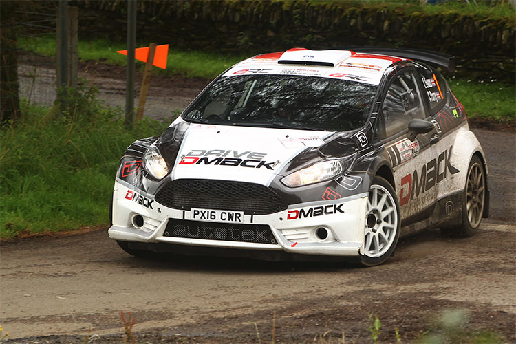 Elfyn Evans - Credit: MSA British Rally Championship