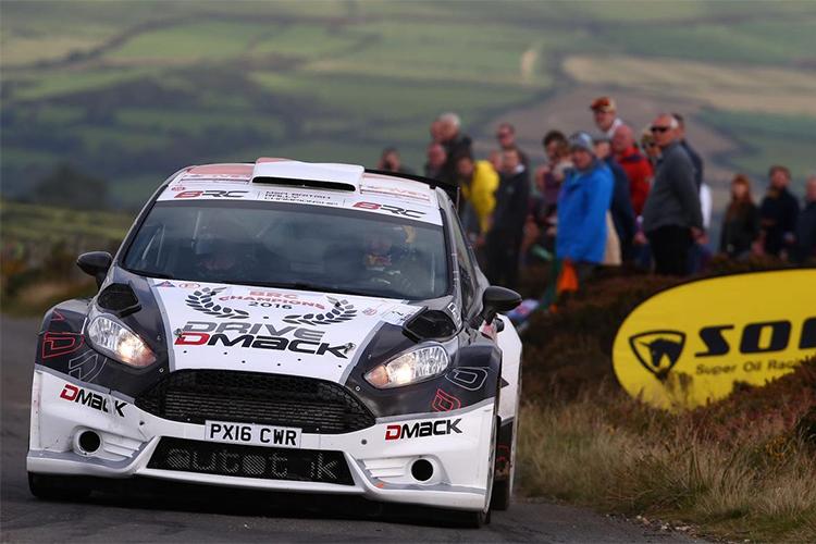 Elfyn Evans - 2016 Isle of Man Rally - Credit: DMACK