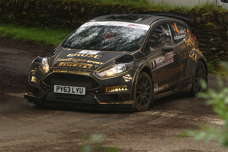 Fredrik Ahlin - Credit: MSA British Rally Championship