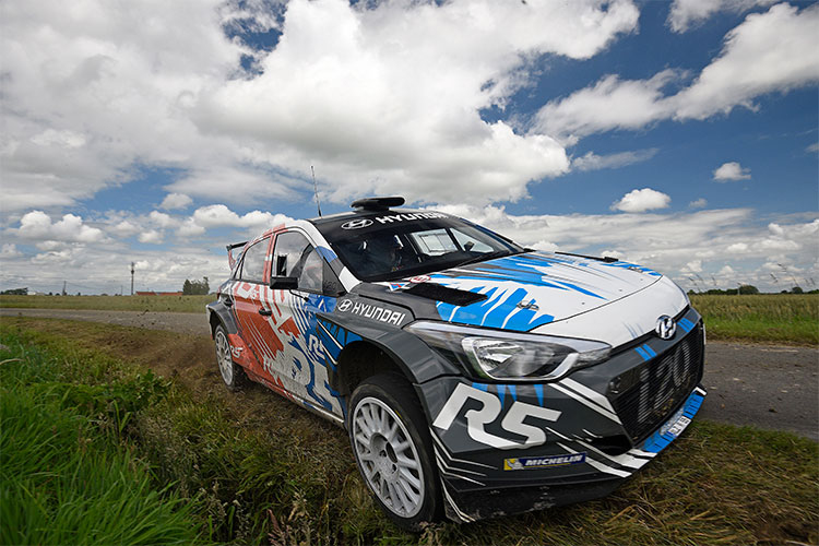 Hyundai New Generation i20 R5 - Credit: Hyundai Motorsport