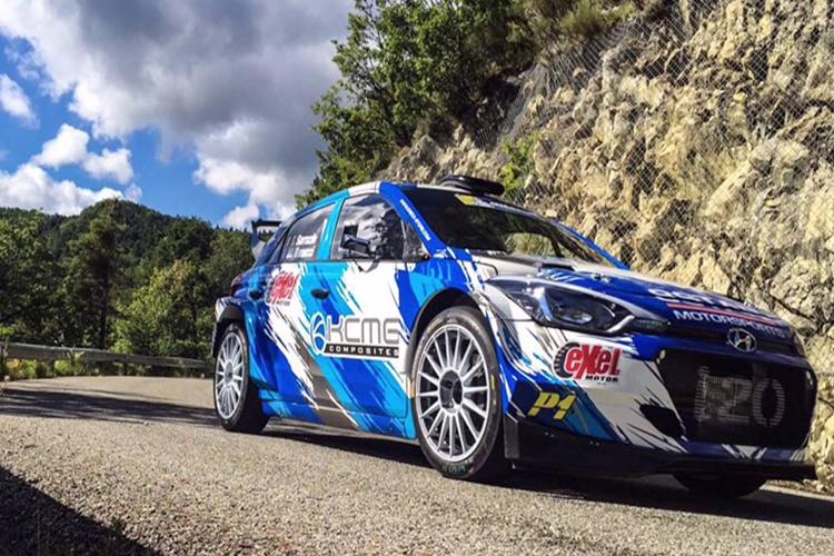Hyundai i20 R5 debut Stephane Sarrazin 2016 Tour de Corse