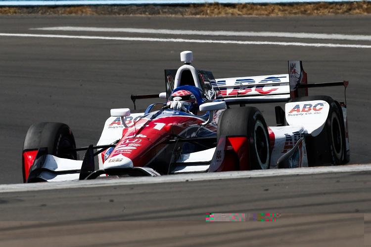 Scott Dixon in ominous IndyCar form