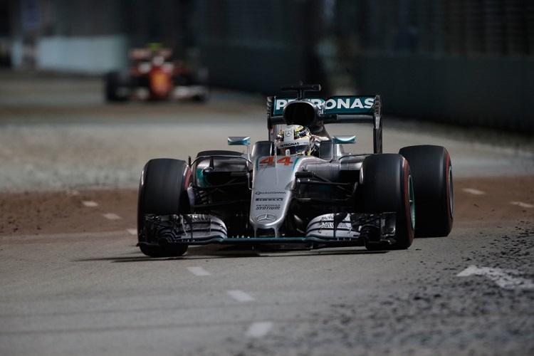 Lewis Hamilton - Credit: Mercedes AMG PETRONAS Formula One Team