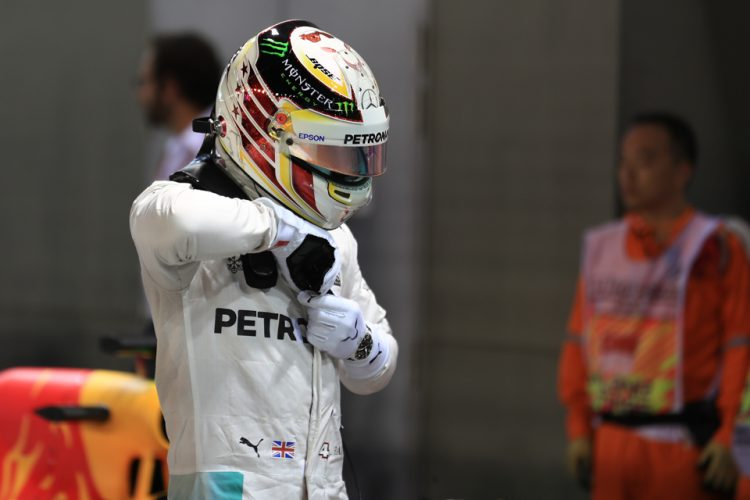 Lewis Hamilton looks forward to driving in Sepang - Credit: Octane Photographic Ltd