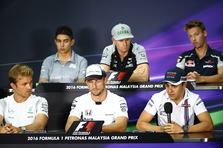 Malaysian Press Conference - Credit: Sahara Force India