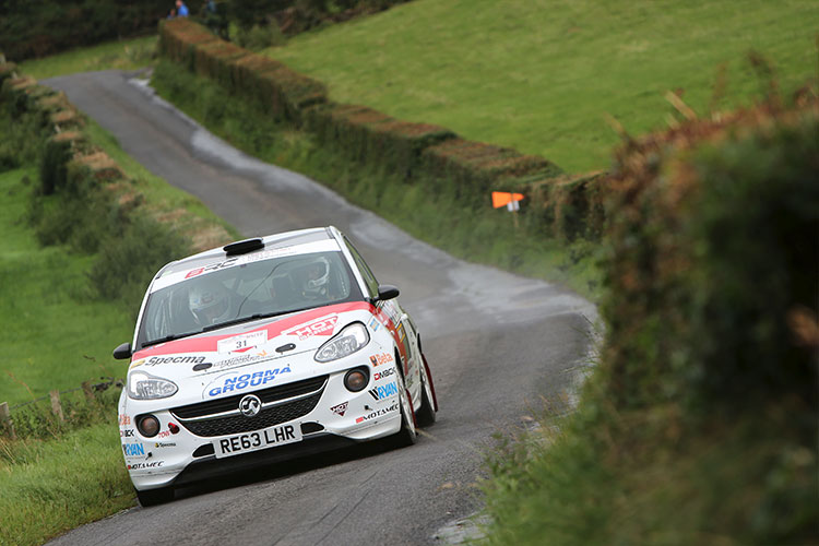 Mattias Adielsson - Credit: MSA British Rally Championship