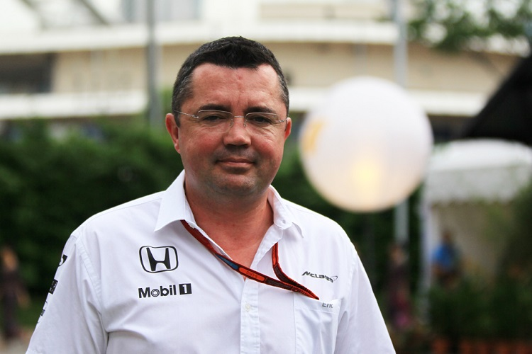 Eric Boullier - Credit: Octane Photographic Ltd.