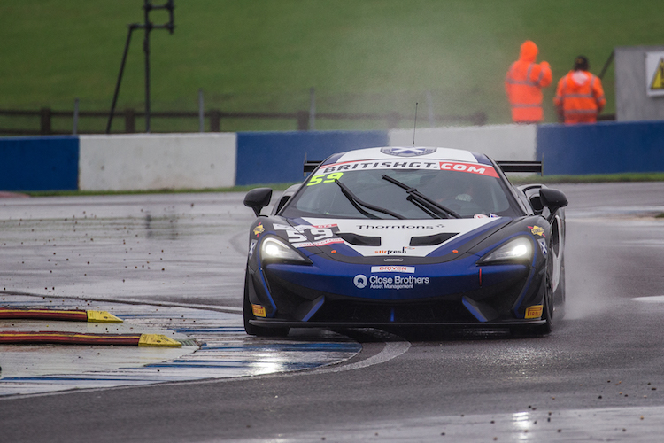 The Black Bull Ecurie Ecosse McLaren 570S claimed honours in GT4 (Credit: Craig Robertson/Racephotography.net)