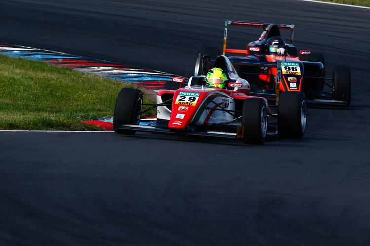 Schumacher Vs Mawson As Adac F4 Lands In Hockenheim The