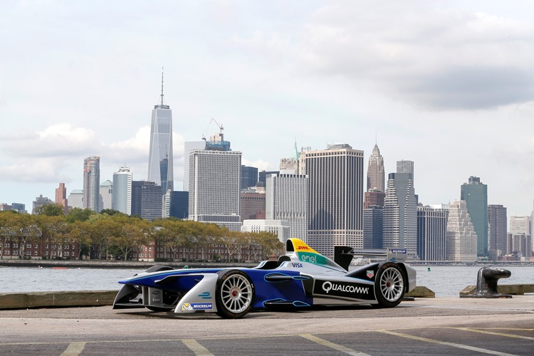 Formula E New York Press Conference Event. New York, New York, USA. Tuesday 20 September 2016. Photo:  / FE ref: Digital Image _L5R5799