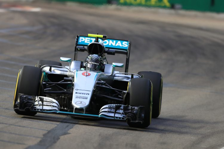 Rosberg looks to continue his winning streak in Malaysia - Credit: Octane Photographic Ltd