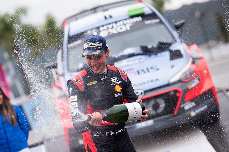 Hayden Paddon - Hyundai Motosport - Credit: Jaanus Ree/Red Bull Content Pool