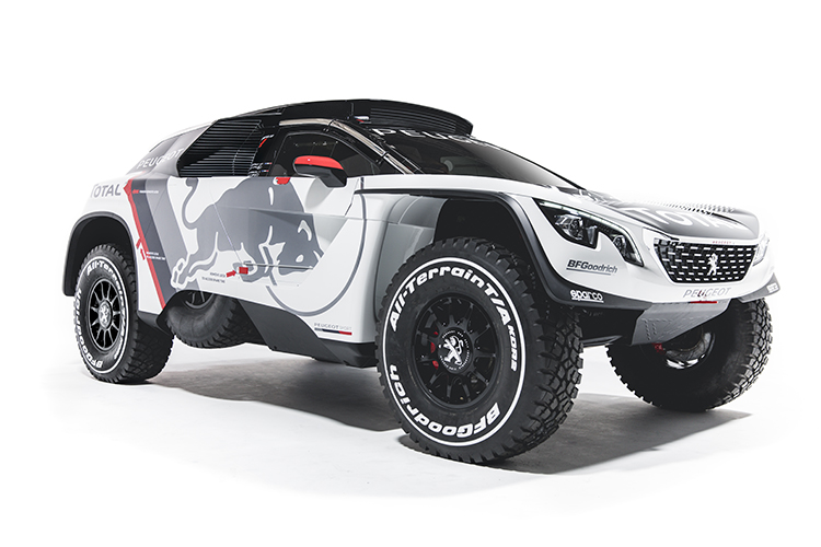 Peugeot 3008DKR 2017 Dakar Rally