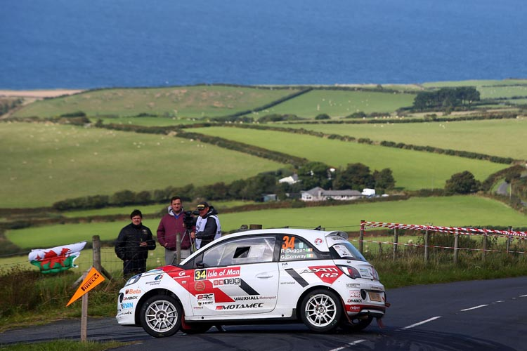 Robert Duggan - Isle of Man Rally 2016 - Credit: MSA British Rally Championship