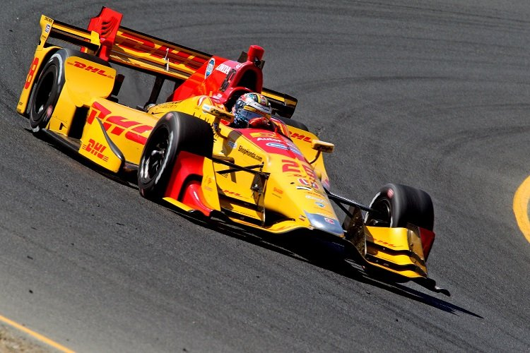Ryan Hunter-Reay - Credit: Richard Dowdy / IndyCar