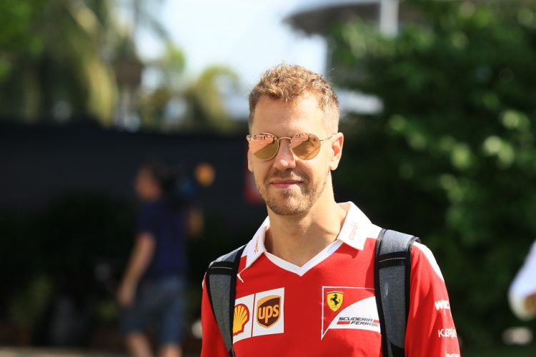 Sebastian Vettel hopes Ferrari can challenge for the win in Malaysia - Credit: Octane Photographic Ltd