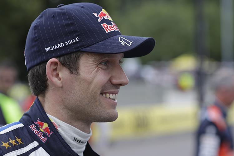 Sebastien Ogier 2016 Tour de Corse - Rallye de France Shakedown