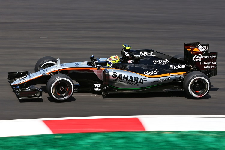 Sergio Perez - Credit: Sahara Force India