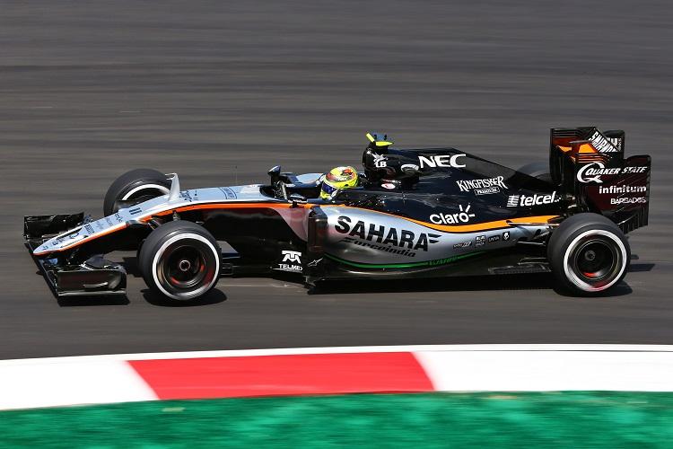 Sergio Perez - Credit: Sahara Force India