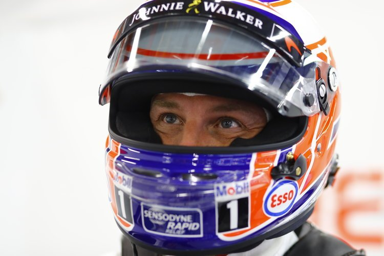 Jenson Button. Credit: McLaren Mediacentre